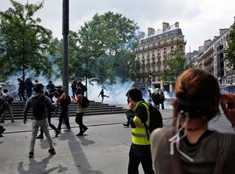 """""""Žuti prsluci"""" ponovo na ulicama francuskih gradova"""