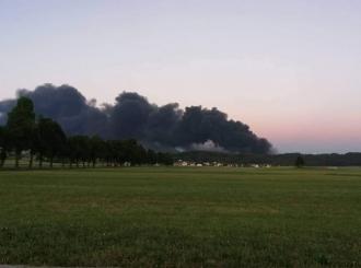Veliki požar izbio u slovenačkoj fabrici