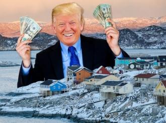 Tramp želi da kupi Grenland od Danske