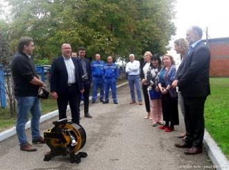 """FOTO Preduzeću """"Vodovod i kanalizacija"""" uručena specijalna kamera kao donacija Češke"""