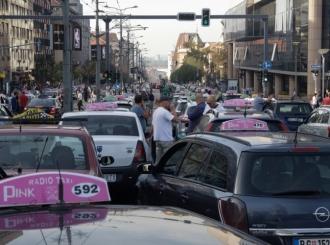 Građanima dosadili protesti taksista, izbili incidenti