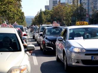 Taksisti odlučili da prekinu protest
