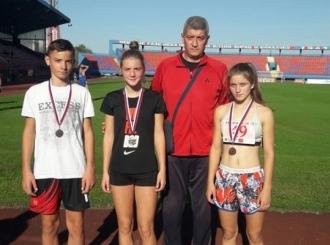 Uspješan vikend za mlade bijeljinske atletičare