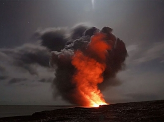 Eruptirao vulkan Merapi na otoku Java