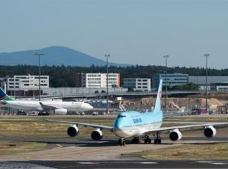 Sudar aviona na aerodromu u Frankfurtu