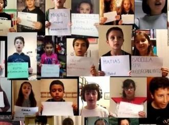 """VIDEO U virtuelnom horu 700 dece otpevalo """"Nessun dorma"""" kao poruku nade svetu"""