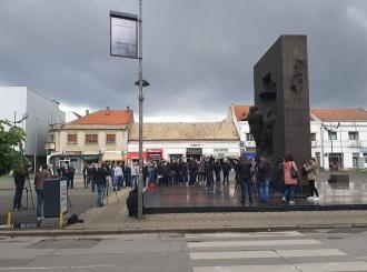 Učesnici protesta poručili: Hoćemo pravdu za Saleta!
