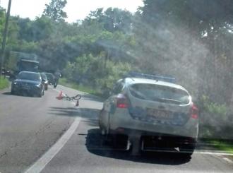 Saobraćajna nezgoda u Suvom Polju, teško povrijeđeno dijete