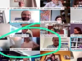 Meksička senatorka u toplesu na sednici vlade - ta kamera sve vidi