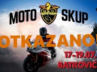 OTKAZAN moto skup u Batkoviću