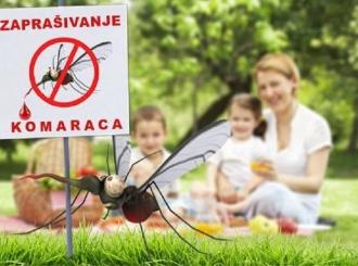 Večeras tretman suzbijanja komaraca u centru grada