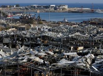 Bejrut proglašen gradom pogođenim elementarnom katastrofom