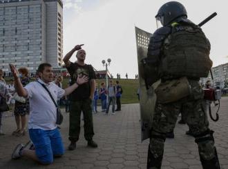 Bjelorusija: Policija ispalila bojevu municiju na demonstrante