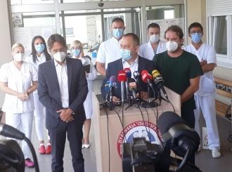 Stručnjaci Kliničkog centra Srbije u posjeti bolnici Sveti Vračevi