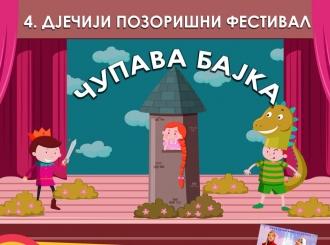 ČUPAVA BAJKA Festival dječijih predstava od 6. do 9. oktobra