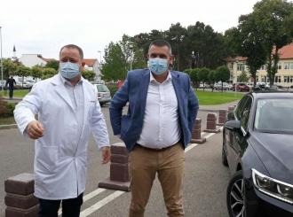Kusturić: Bijeljinska Bolnica pouzdana zdravstvena ustanova