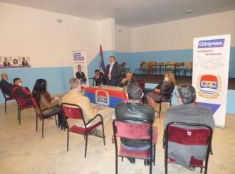 SDS Semberija u Vršanima: Nastavljamo sa odgovornom politikom