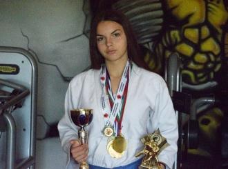 Elena Mikić iz Bijeljine je državna džudo prvakinja