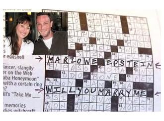Zaprosio je preko križaljke u novinama