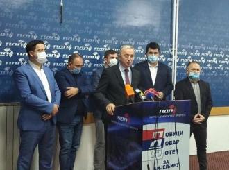 Borenović: Pred Petrovićem velika odgovornost