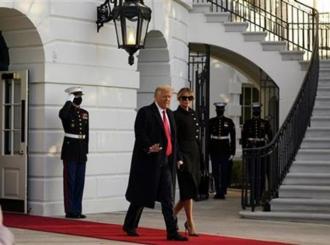 Donald Tramp napustio Bijelu kuću