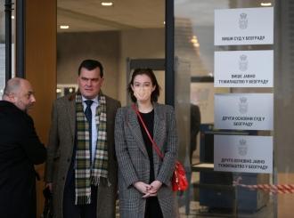 Milena Radulović pet časova davala iskaz o Miki Aleksiću