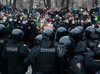 Rusija: Na protestima podrške Navaljnom uhapšeno 1090 ljudi