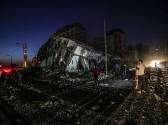 Masovno bombardovanje sjevera Gaze