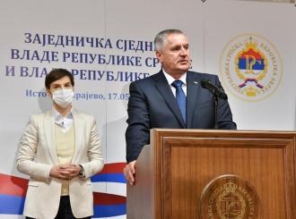 Jaka Srbija je garant uspjeha Srpske