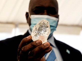 Verovali ili ne, ovo je dijamant i to treći po veličini dragulj ikada iskopan
