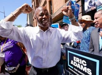 Afroamerikanac vodi u borbi za gradonačelnika Njujorka