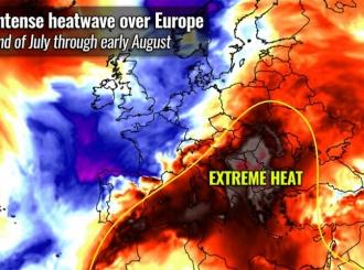 Upozorenje meteorologa: Stiže najgori toplotni talas ovog ljeta