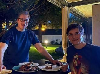 Vučić: Prvi put kod Ane na večeri