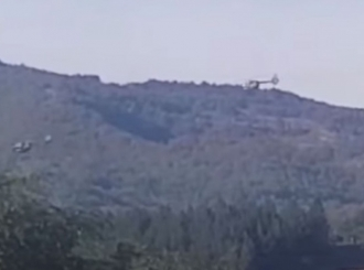 VIDEO Helikopteri Vojske Srbije iznad Jarinja