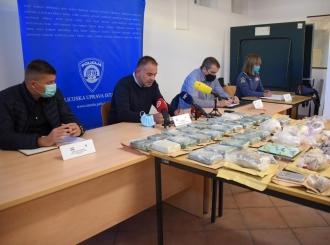 Razbijen krijumčarski lanac kokaina koji je iz BiH dolazio u Istru