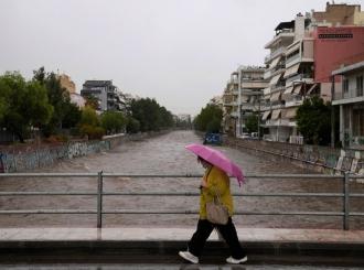 U Grčkoj palo više od 75 miliona tona vode