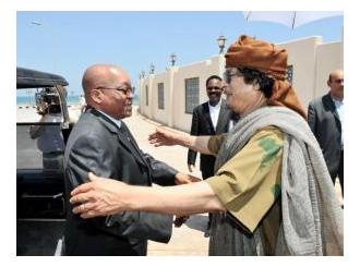 Gadafi izgleda spreman na primirje