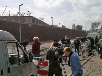 Ekipe izvještača spremno čekaju Mladića u Hagu