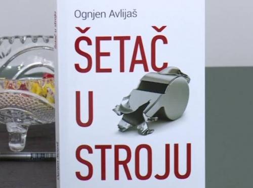 """Advokat iz Bijeljine Ognjen Avlijaš izdao je svoj prvi roman """"Šetač u stroju"""""""