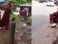 Prizor koji se retko viđa: Tuča budističkih monaha nasred ulice