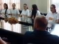 Gradonačelnik ugostio juniorke BiH u odbojci