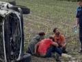 Bijeljina: Ukrali automobil, pa se prevrnuli
