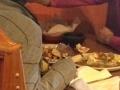 Konobar nahranio mušteriju bez šaka