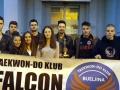 "16 medalja u Dubrovniku za taekwon-do klub ""Falcon"""