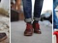 Geometrijski oblici i pruge na čarapama