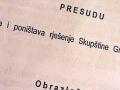 Poništena odluka Skupštine o smjeni Branke Marković-Savčić