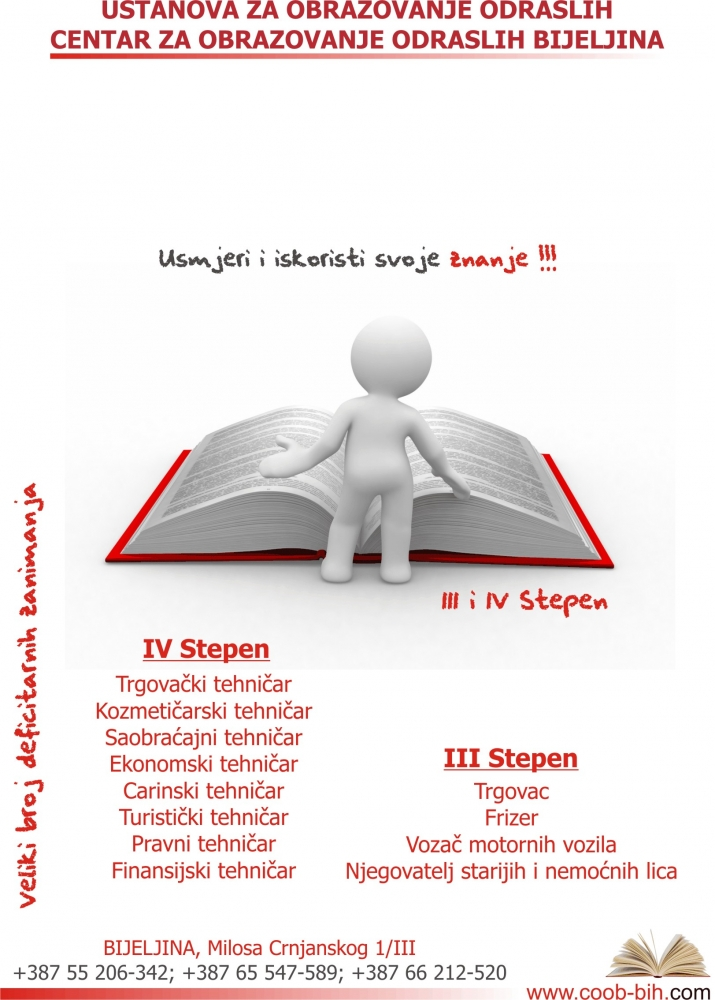 Centar za obrazovanje odraslih Bijeljina, Bijeljina