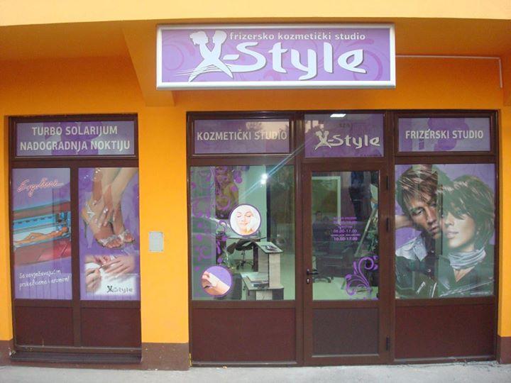 Frizersko-kozmetički studio X-STYLE, Bijeljina