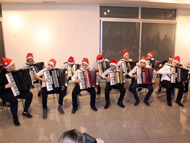 Bijeljina, Božićni koncert muzičke škole Kornelije Stanković CZK Semberija