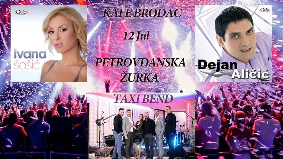 Bijeljina, MEGA Petrovdanska ŽURKA Kafe bar Brodac